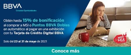 Promociones bancarias de BBVA en el Hot Sale 2021