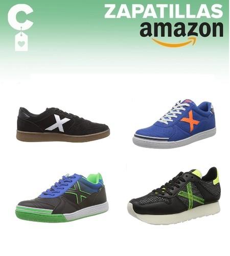 Chollos en tallas sueltas de zapatillas Munich en Amazon por menos de 40 euros