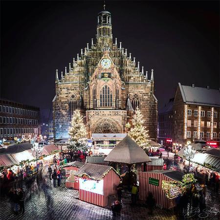 Nuremberg Ciudades Europeas Con Mas Luces En Navidad