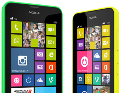 Nokia Lumia 630 y Lumia 635, toda la información