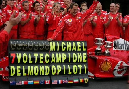 Michael Schumacher, 7 veces campeón del mundo
