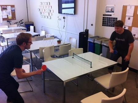Espacios para trabajar: las oficinas de pinterest