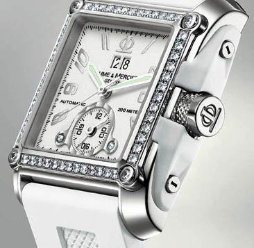 Colección de relojes Riviera a Hampton de Baume & Mercier