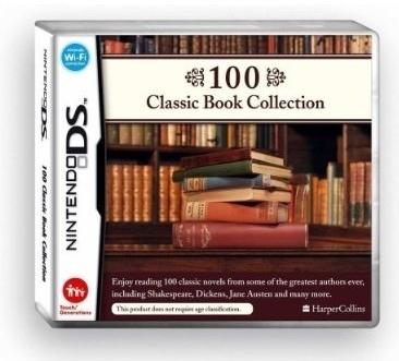'100 Classic Book Collection': clásicos de la lectura en DS