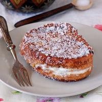 Torrijas rellenas de crema de queso: receta de Semana Santa para un capricho