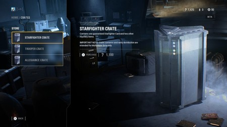 Cajas de botín en Star Wars Battlefront II
