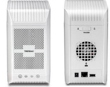 TRENDNet TN-200, NAS con vocación de servidor multimedia
