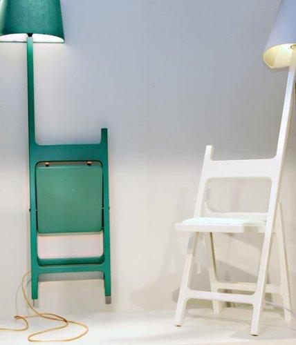 The Poets, sillas con lámpara incorporada