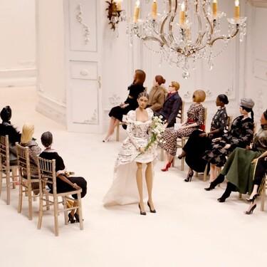 Moschino organiza un desfile de marionetas en la Semana de la Moda de Milán 2020 con todo lujo de detalles (incluso una versión de Anna Wintour en primera fila)