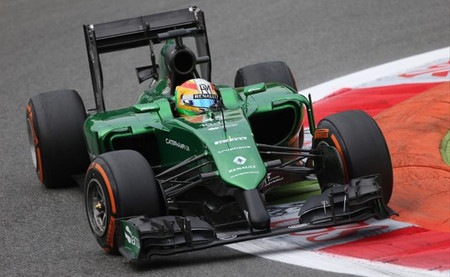 Roberto Merhi, satisfecho de su primera sesión de entrenamientos libres en la Fórmula 1