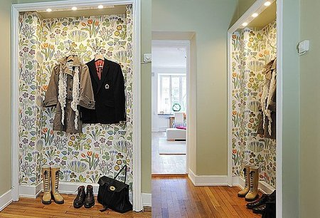 Una buena idea: un lugar donde exponer y preparar la ropa