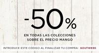 Nuevo outlet de Mango a mitad de precio, hasta el 26 de mayo