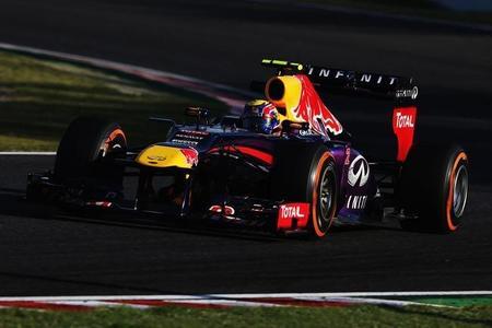 Mark Webber lidera los Libres 3 de Japón ante los problemas de Sebastian Vettel