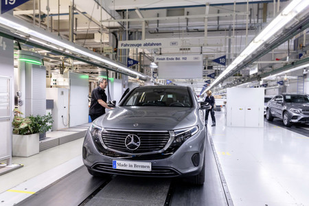 Arranca la producción en Alemania del nuevo Mercedes-Benz EQC
