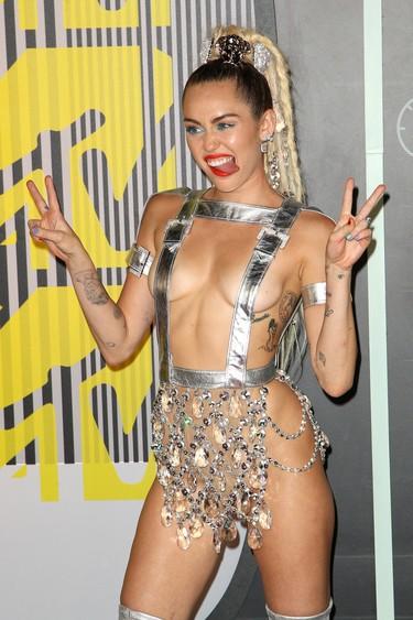 Los MTV VMAs 2015: Lo de Miley Cyrus iba fuera de concurso