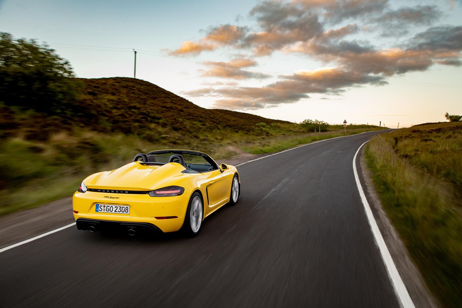Foto de Porsche 718 Spyder (prueba contacto) (238/296)