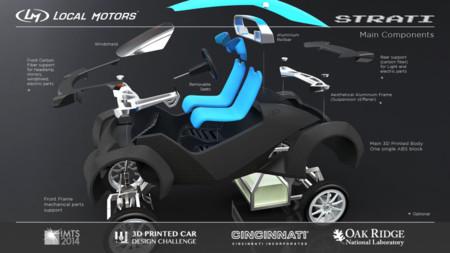La impresión 3D permite construir un coche en horas