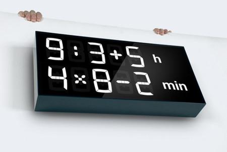 Reloj Albert, el único reloj que no te da la hora, la tienes que calcular