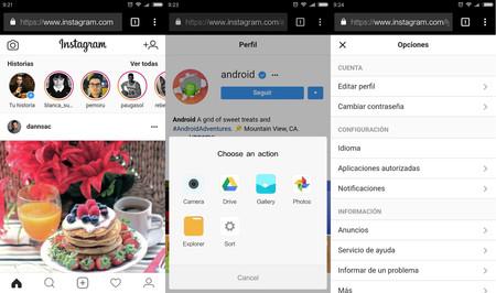 Instagram Web 2