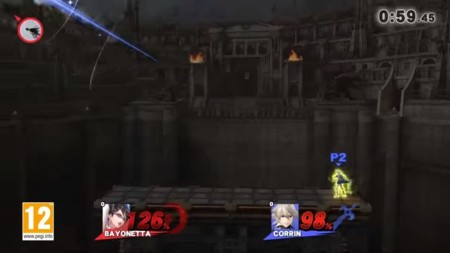 ¡Bayonetta y Corrin se muestran en acción!