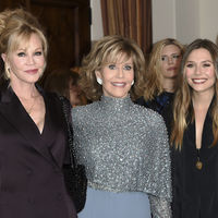 Jane Fonda, Melanie Griffith y Elizabeth Olsen juntas demostrando que estar perfecta a cualquier edad es posible