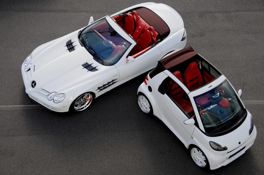 Foto de Brabus SLR McLaren y Brabus Smart Ultimate 112 (1/40)