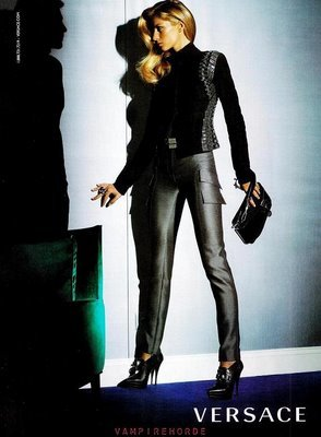 Gisele Bündchen imagen de Versace Otoño-Invierno 2009/2010