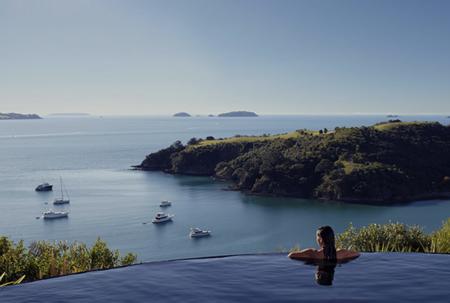 Delamore Lodge Waiheke Island Las Mejores Piscinas Infinitas Del Mundo