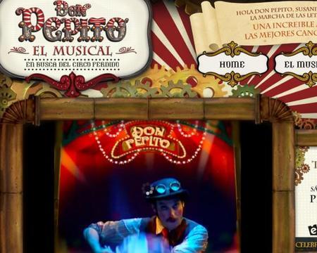 """""""Don Pepito"""": el musical de las canciones del circo, esta Navidad en Madrid"""