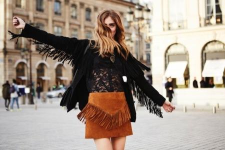 Chiara Fringe Skirt