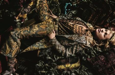 Kate Moss Etro Campana Otono Invierno 2015 2016 1
