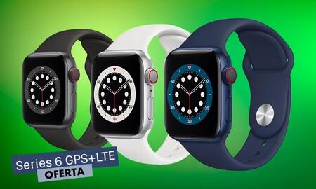 El Apple Watch Series 6 GPS+LTE de 40mm más barato lo tiene El Corte Inglés: 489 euros con un ahorro de 40