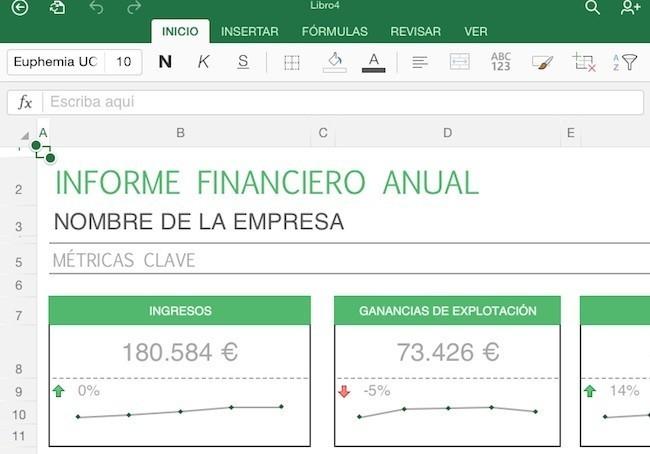 La apps de Excel para iOS™ se actualiza para que puedes agregar datos a tus tablas con alguna foto