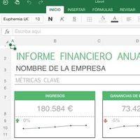 La app de Excel para iOS se actualiza para que puedas añadir datos a tus tablas con una foto
