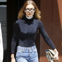 Este es el look más sencillo (y molón) de Gigi Hadid