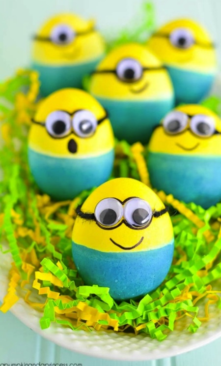 Dyed Minion Easter