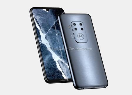 Motorola busca regresar por todo lo alto con un nuevo móvil de cuatro cámaras al estilo Nokia, según la última filtración