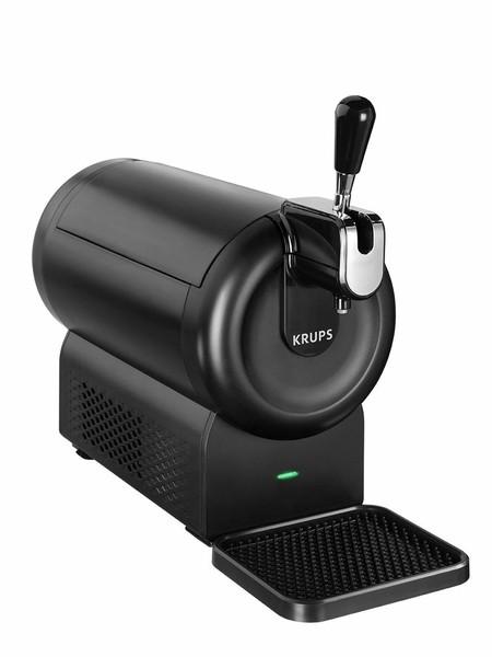 Por 49 euros en Amazon tenemos el dispensador de cerveza de barril Krups The Sub Compact VB641810