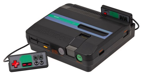 Sharp Twin Famicom Console