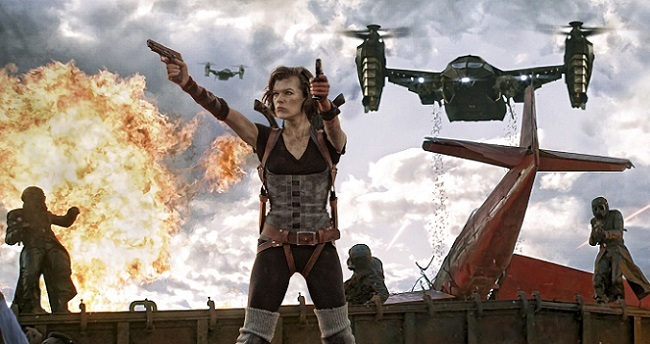 Milla Jovovich en 'Resident Evil: Venganza'