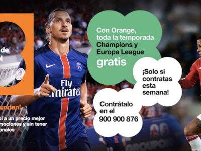 Más leña al fuego: Orange regala toda la temporada de Champions y Europa League