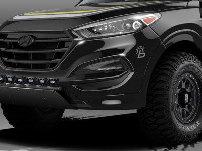 Así de  bruto se expondrá el Hyundai Tucson en Las Vegas
