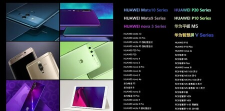 Huawei Antiguos Harmony