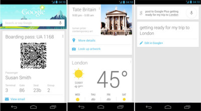 Google Now también llegará a Google Chrome