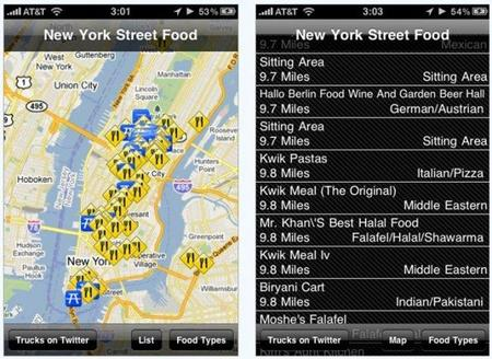 Aplicaciones viajeras para el iPhone: New York Street Food