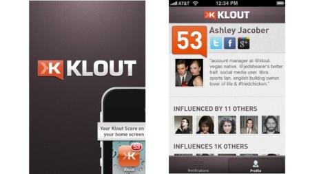 Klout lanza su aplicación para iOS: poco más que ver tu puntuación