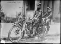 Los niños Abernathy, pioneros de los viajes de larga distancia