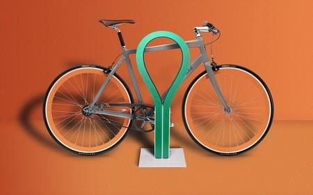 Loop, para aparcar tu bicicleta sin nunca más rayar el cuadro