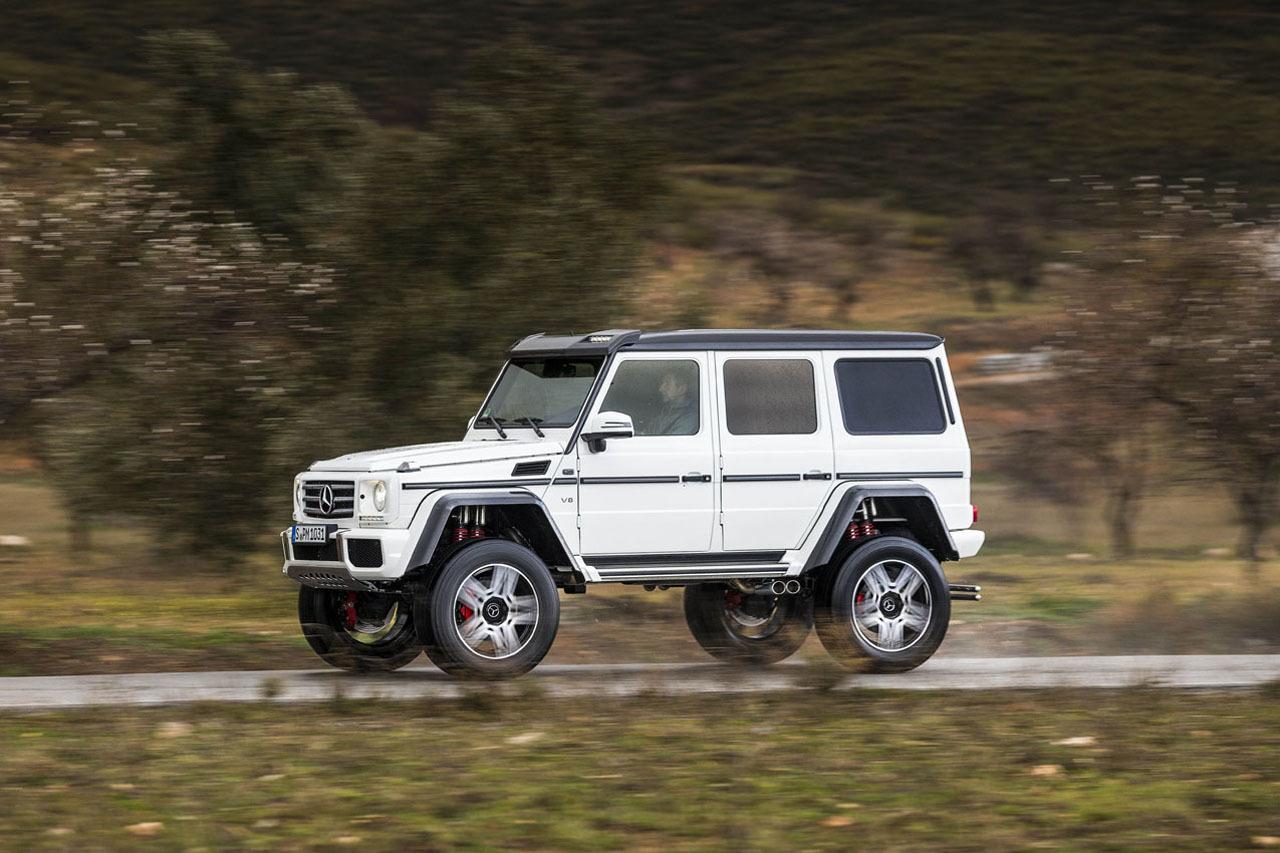 Foto de Mercedes-Benz G 500 4x4², toma de contacto (98/127)