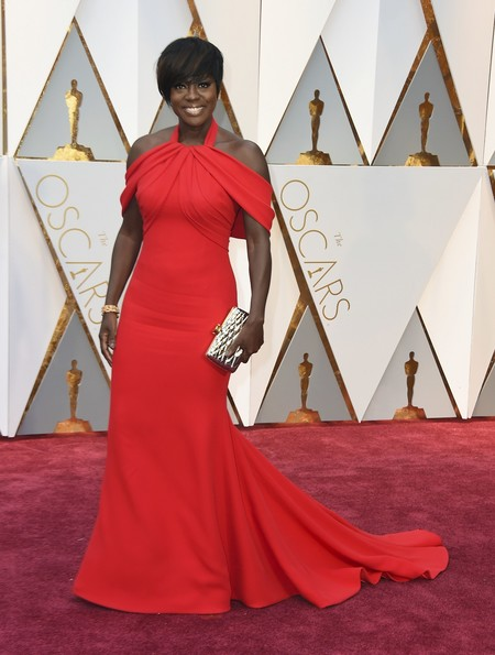 Viola Davis Armani Oscars2017